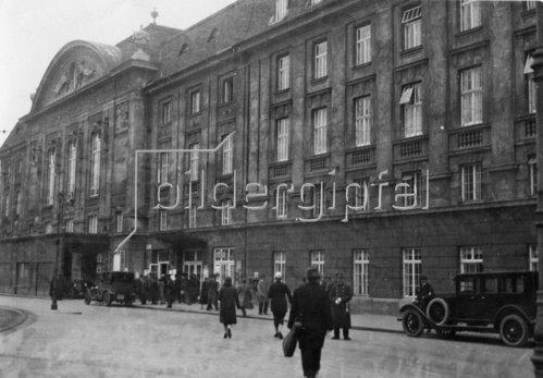 Das Wiener Konzerthaus. Österreich. Photographie. Um 1935.