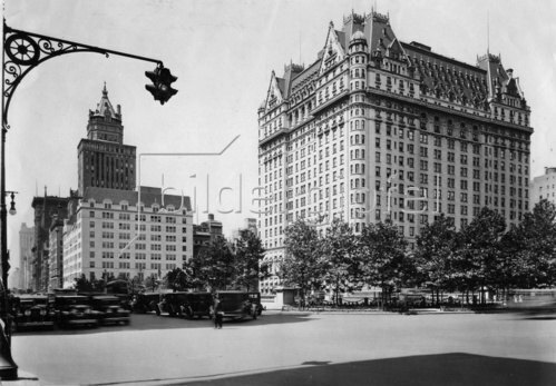 Fifth Avenue in New York. Amerika. Photographie. Um 1930.