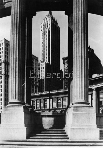 Das Pittsfield Building. Chicago. Photographie. Um 1935.
