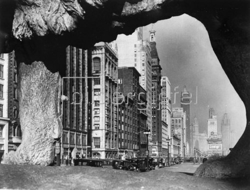 Das Art Institute in Chicago. Photographie. 1932.