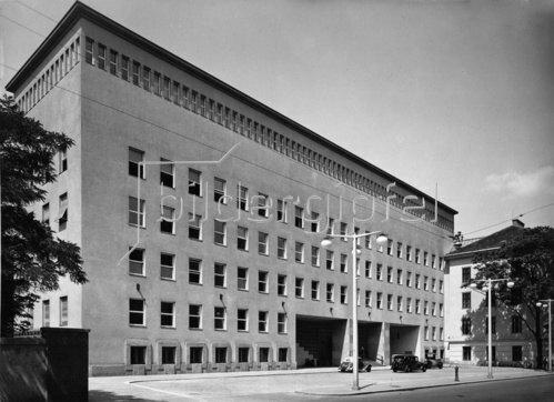 Wiener Funkhaus. Erbaut 1937-1939. Wien. Photographie.