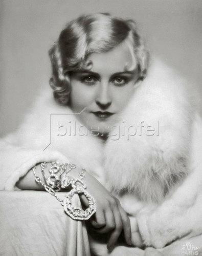 Madame d' Ora: Daniela Parola, französische Schauspielerin, um 1928