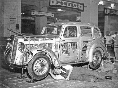Showcar, Glasverkleidung, 1937.