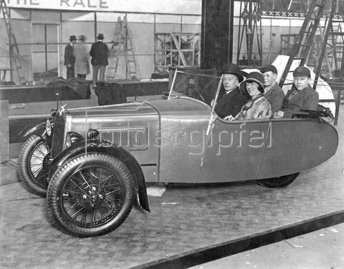 Olympia Motormesse. Photographie. London, England. Um 1931.