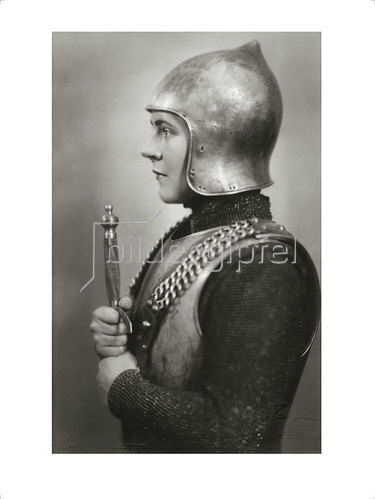 Franz Xaver Setzer: Paula Wessely als Hl. Johanna, 1937