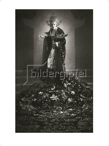 Franz Xaver Setzer: Maria Jeritza als Turandot 1926