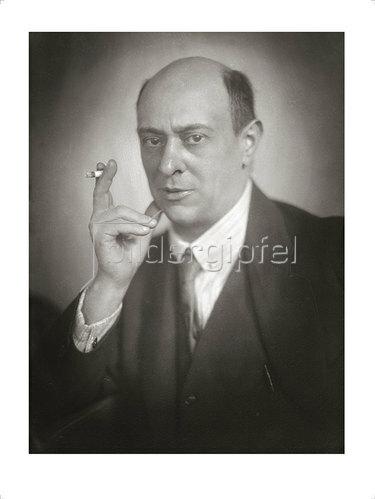 Franz Xaver Setzer: Arnold Schönberg 1922