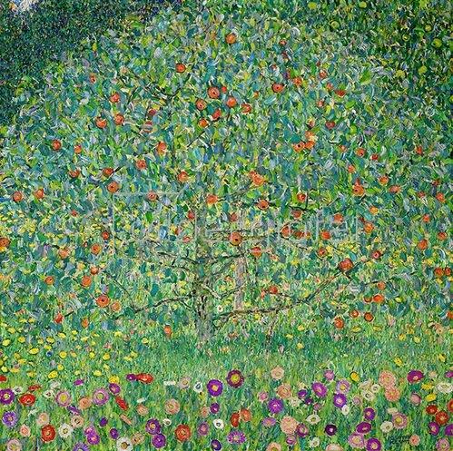 Gustav Klimt: Apfelbaum 1911/1912