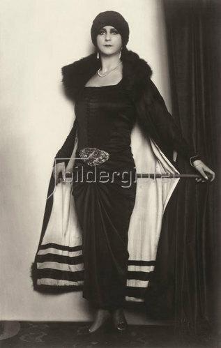 Madame d' Ora: Unbekannte Dame