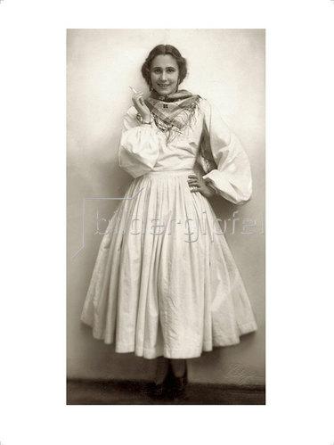 """Franz Xaver Setzer: Grete Wiesenthal in """"Argentinischer Tango"""" 1927"""