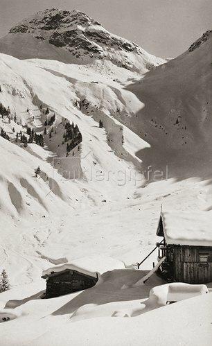 Kitzbühel. Tirol. Tristkogel. Um 1920.