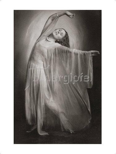 """Franz Xaver Setzer: Grete Wiesenthal in """"Schwingen im Licht"""" 1924"""