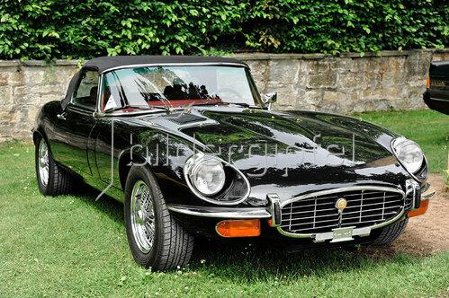 Jaguar E Type V12 Typ Roadster, Baujahr 1972