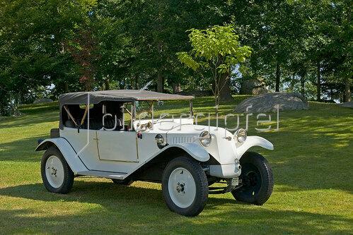 Oldtimer Tatra 11 Cabriolet, Baujahr 1924