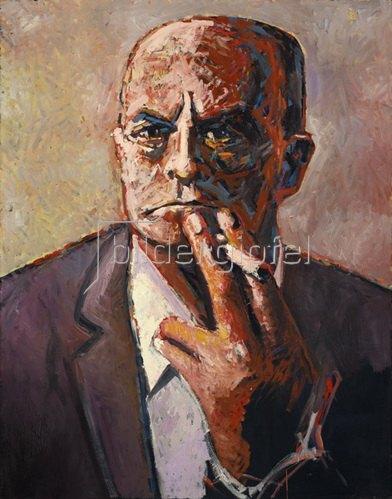 Lothar Simhart: Portrait Max Beckmann