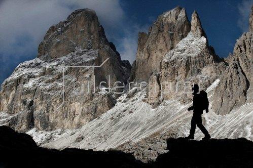 Michael Reusse: Alpen, Südtirol, Sellajoch, Steinerne Stadt