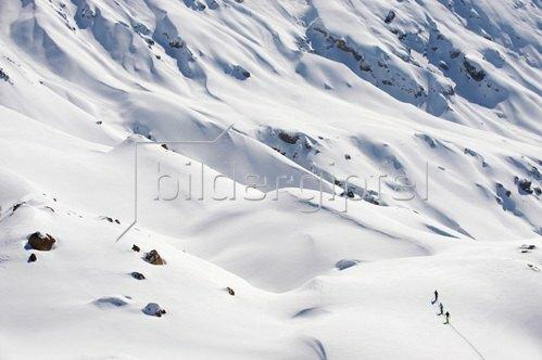 Michael Reusse: Alpen, Seiseralm, Skitour