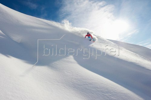 Michael Reusse: Alpen,Österreich, Arlberg, Ski