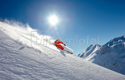 Michael Reusse: Alpen, Österreich, Arlberg, Ski, Freeride
