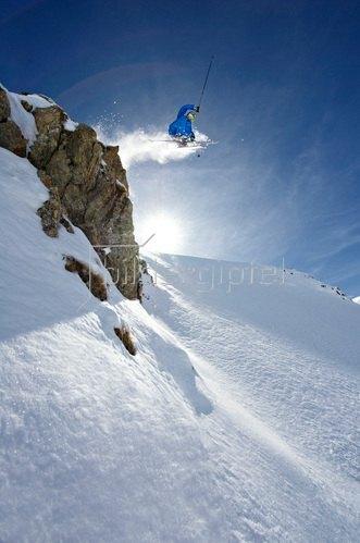 Michael Reusse: Alpen, Arlberg, Zürs, Ski, Freeride