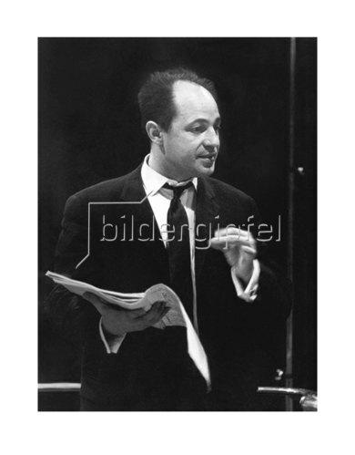 Werner Neumeister: Pierre Boulez in München, im Herkulessaal 1964