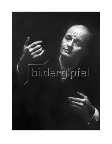 Werner Neumeister: Ference Fricsay in München, im Herkulessaal 1960