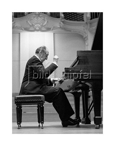 Werner Neumeister: Wladimir Horowitz in Hamburg, 1986