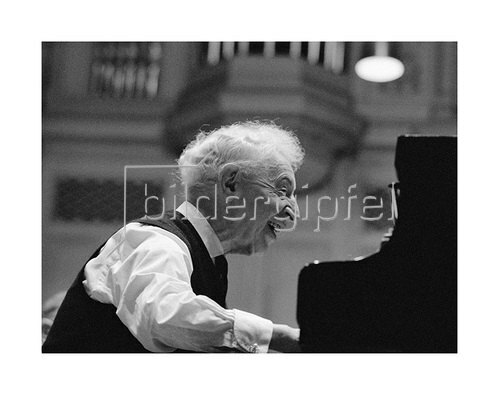 Werner Neumeister: Arthur Rubinstein in Zürich, Tonhalle