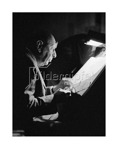 Werner Neumeister: Igor Strawinsky in Hamburg 1963