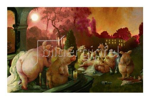 Rudi Hurzlmeier: Schweinebucht Desaster Mottoparty