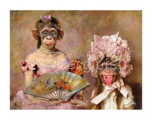 Rudi Hurzlmeier: Tarzans Töchter beim Tanztee in Toulouse