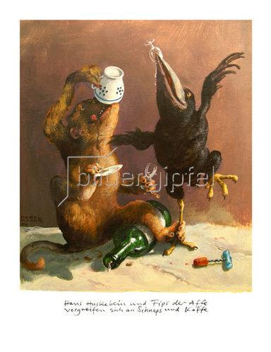 Rudi Hurzlmeier: Hans Huckebein und Fipps der Affe