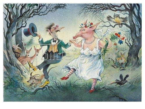 Reinhard Michl: Der Nachtschelm und das Siebenschwein oder eine glückliche Ehe