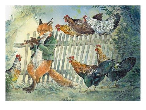 Reinhard Michl: Der Fuchs und die Hühner