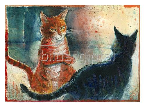 Reinhard Michl: Due Gatti uno