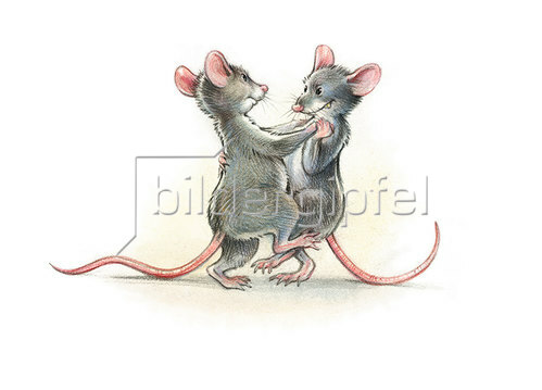 Reinhard Michl: Da tanzt vor dem Mond die Maus mit der Maus