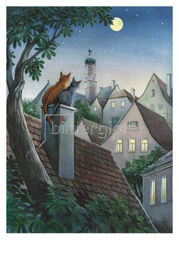 Reinhard Michl: Städtische Sommernacht
