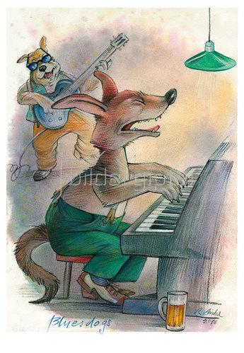 Reinhard Michl: Bluesdogs