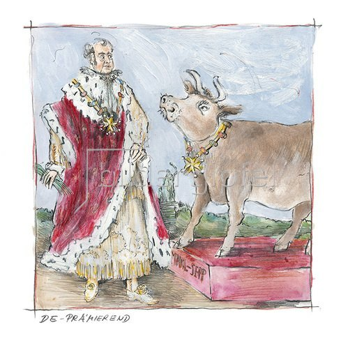 Rosemarie Zacher: DePrämierend (Maximilian II. auf dem Oktoberfest)
