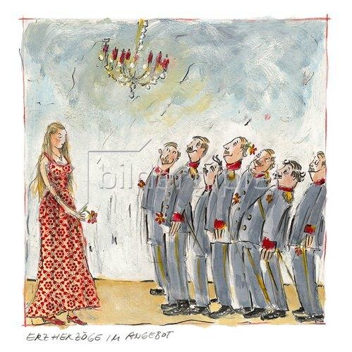 Rosemarie Zacher: Erzherzöge im Angebot (Wittelsbacher Heiratspolitik)