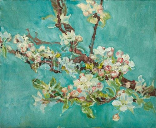 Tanja Leodolter: Apfelblüten 13
