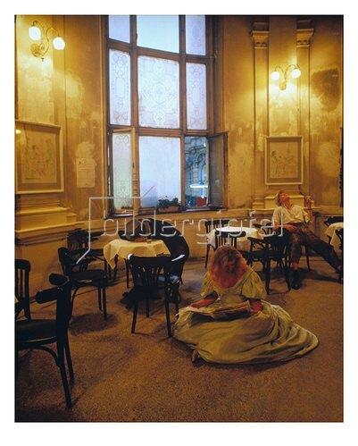 Thomas Lüttge: Nachtcafé-Dämmerung
