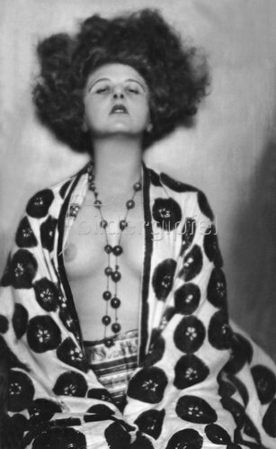 Madame d' Ora: Elsie Altman, Tänzerin, Aufnahme von 1923