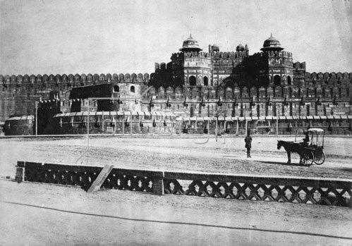 Gebrüder Haeckel: Indien, Agra: Rotes Fort, um 1910