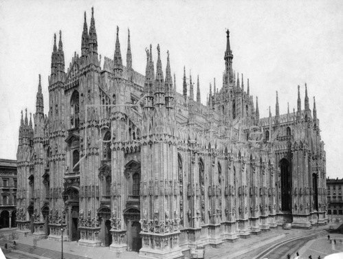 Gebrüder Haeckel: Milan Cathedral_1910