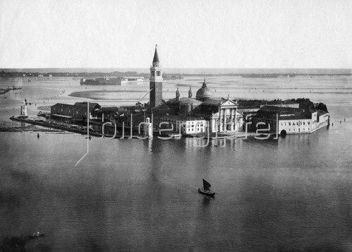 Gebrüder Haeckel: Venedig, Isola San Giorgio Maggiore, um 1910