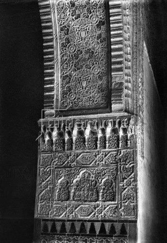 Gebrüder Haeckel: Andalusien, Granada: Ornamentik in der Alhambra, um 1910