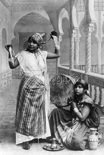 Gebrüder Haeckel: Marokko: Marokkanische Taenzerinnen - um 1910