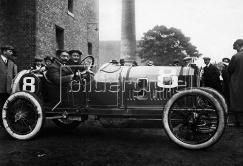 Peugeot der Sieger der Kleinwagen in Boulogne. 1913