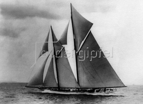 Segelboot, Kieler Woche, 1912